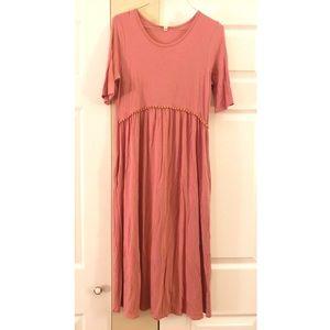 NWOT Orange Creek Mauve Dress with Pockets